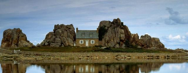 habitation près de la mer en bretagne