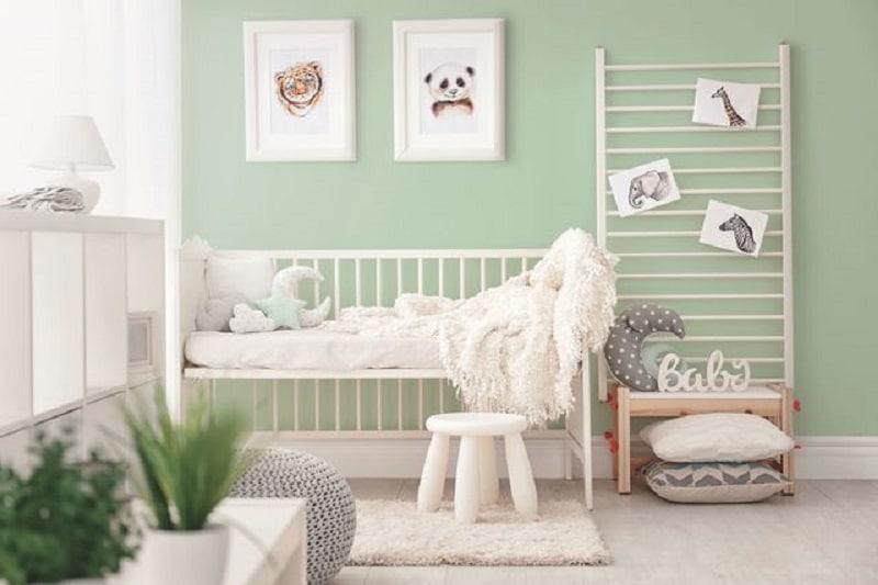 Comment bien choisir la peinture d'une chambre pour bébé