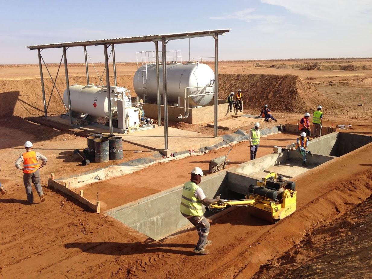 Un chantier de Fayat Energies