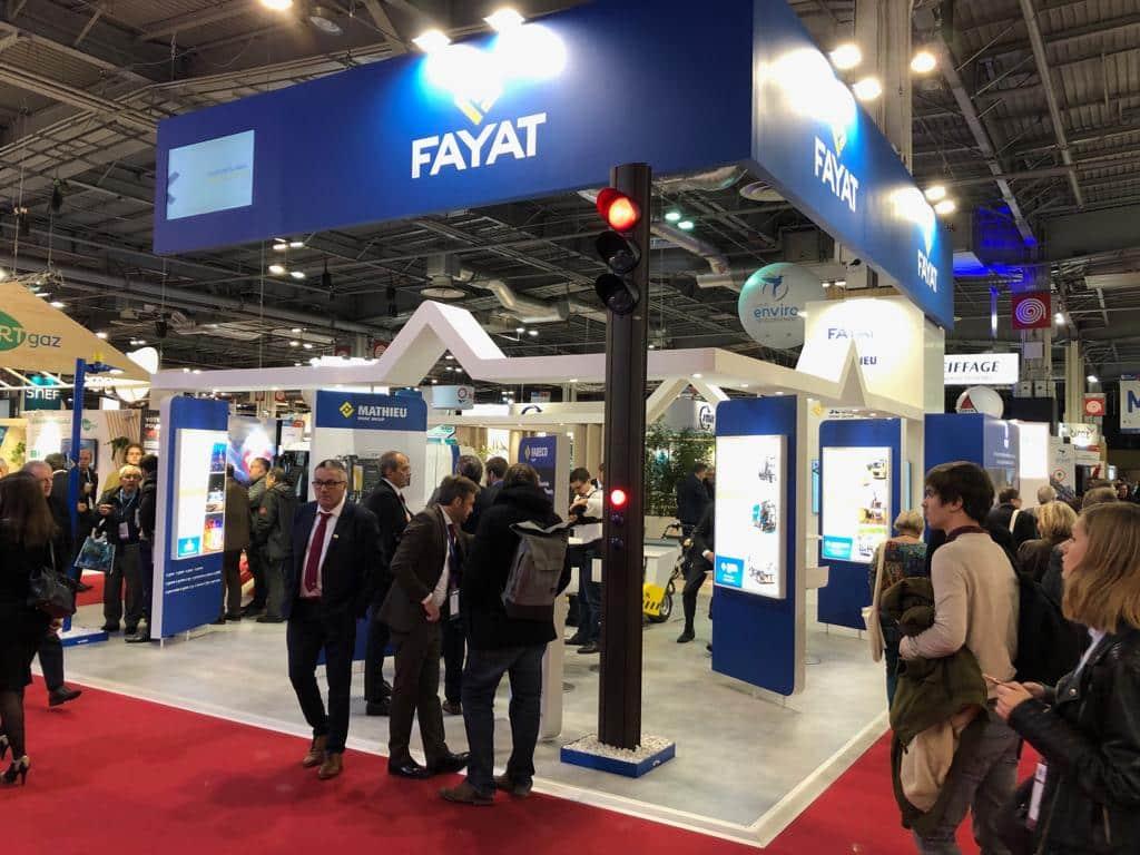 Les dirigeants de Fayat Energie Services