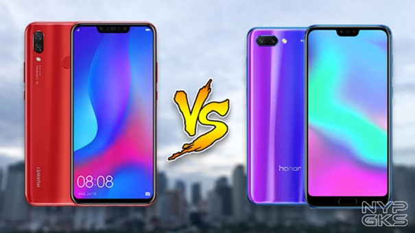 Huawei : La gamme Nova vs Honor