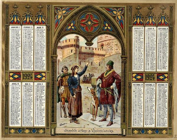 Almanach des postes éditer depuis 1854 par l'imprimerie Oberthur en bretagne