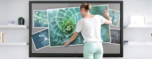écran interactif tactile