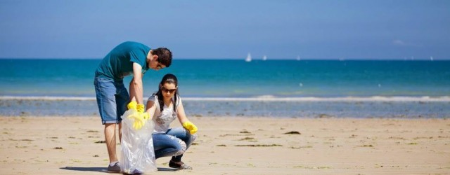 nettoyage de plage en bretagne