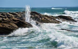 Quiberon aussi une terre de poker et à côté de la mer !