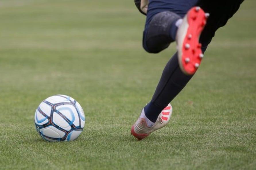 shoot de football