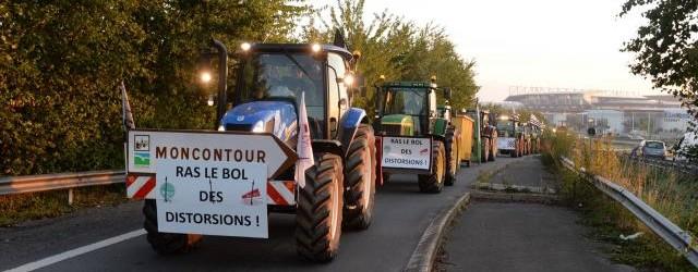 tracteur manifestation